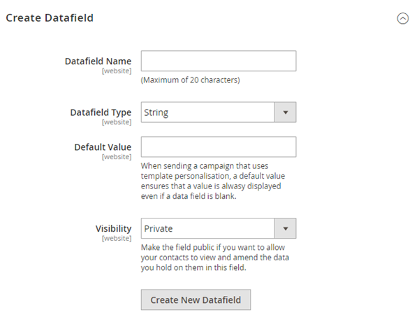 Data syncing: Data mapping - Magento 2 – dotdigital Enement Cloud on
