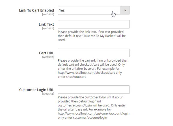 Abandoned cart: Link to cart - Magento 2 – dotdigital